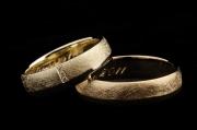 39 Abielusõrmused - kuld, briljandid