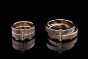 24 Abielusõrmused - topelt rõngad