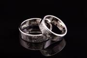 15 Abielusõrmused - valge kuld