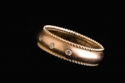 10 Abielusõrmused - kuld, punutis