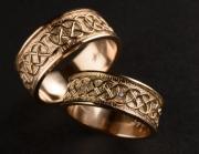 59 Abielusõrmused - sõrmused keldi mustriga