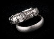 17 Abielusõrmused - valge kuld