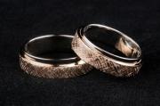 1 Abielusõrmused - valge kuld, kuld