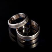 12 Abielusõrmused - valge kuld