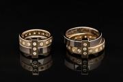 56 Abielusõrmused - kuld, briljandid