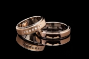 47 Abielusõrmused - valge kuld, kuld, briljandid