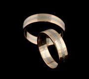 46 Abielusõrmused -valge kuld, kuld