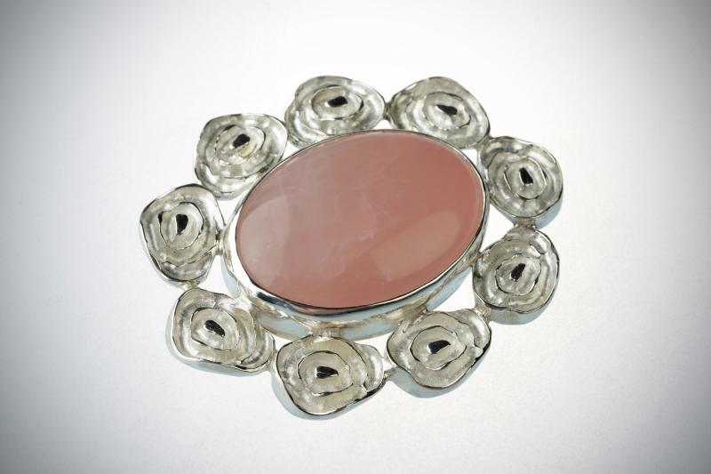 Pross 55 - Pross roosa kvartsiga