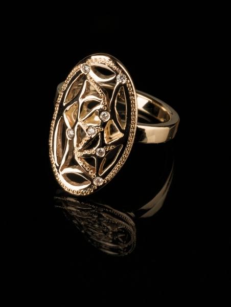 67 Sõrmus - kuld, briljandid