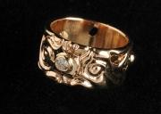 """4 Sõrmus - inspireerituna Gustav Klimt'i teosest """"Elupuu"""""""