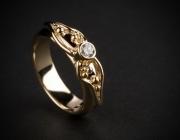 40 Sõrmus  - kullast kihlasõrmus