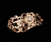 35 Sõrmus - kuld, briljant