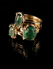 Sõrmus 66 - Kuld, smaragdid