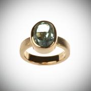 Sõrmus 69 - kuld, topaas